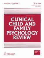 Clinical Child and Family Psychology Review 2/2006