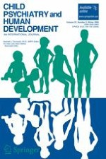 Child Psychiatry & Human Development 2/2006