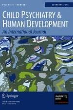 Child Psychiatry & Human Development 1/2010