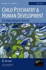 Child Psychiatry & Human Development 3/2011
