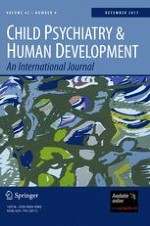 Child Psychiatry & Human Development 6/2011