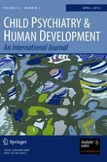 Child Psychiatry & Human Development 2/2012