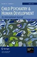 Child Psychiatry & Human Development 3/2012