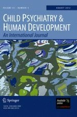 Child Psychiatry & Human Development 4/2012