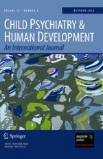 Child Psychiatry & Human Development 5/2012
