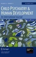Child Psychiatry & Human Development 6/2012