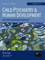 Child Psychiatry & Human Development 1/2013