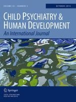 Child Psychiatry & Human Development 5/2014