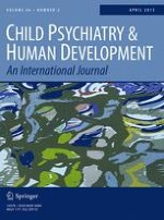 Child Psychiatry & Human Development 2/2015