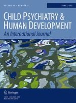 Child Psychiatry & Human Development 3/2015