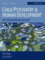 Child Psychiatry & Human Development 5/2015