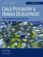 Child Psychiatry & Human Development 1/2016