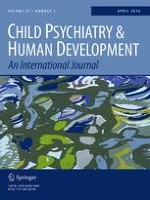 Child Psychiatry & Human Development 2/2016
