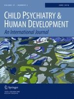 Child Psychiatry & Human Development 3/2016