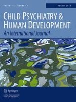 Child Psychiatry & Human Development 4/2016