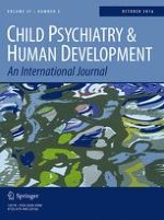 Child Psychiatry & Human Development 5/2016
