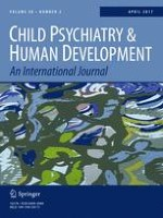 Child Psychiatry & Human Development 2/2017