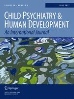 Child Psychiatry & Human Development 3/2017