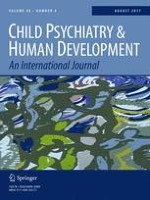 Child Psychiatry & Human Development 4/2017