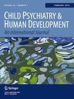 Child Psychiatry & Human Development 1/2019