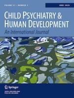 Child Psychiatry & Human Development 3/2020