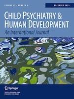 Child Psychiatry & Human Development 6/2020