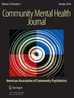 Community Mental Health Journal 7/2016