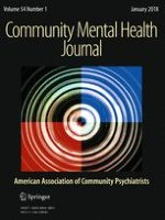 Community Mental Health Journal 1/2018