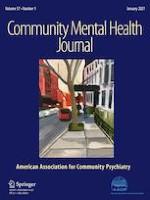 Community Mental Health Journal 1/2021