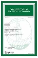 Constitutional Political Economy 4/2013