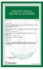 Constitutional Political Economy 2/2017