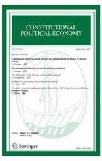 Constitutional Political Economy 3/2017