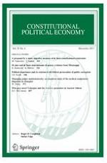 Constitutional Political Economy 4/2017