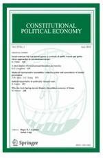 Constitutional Political Economy 2/2018
