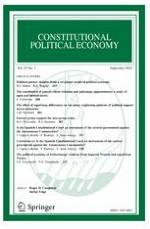 Constitutional Political Economy 3/2018