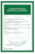 Constitutional Political Economy 4/2019