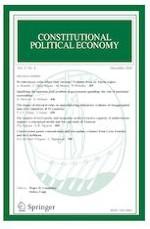 Constitutional Political Economy 4/2020