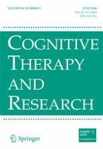 Cognitive Therapy and Research 3/2006