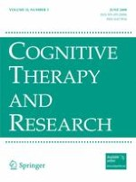 Cognitive Therapy and Research 3/2008