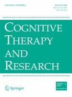 Cognitive Therapy and Research 4/2008