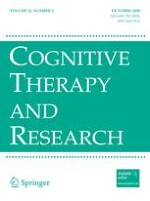 Cognitive Therapy and Research 5/2008