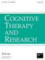 Cognitive Therapy and Research 2/2009