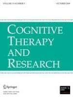 Cognitive Therapy and Research 5/2009