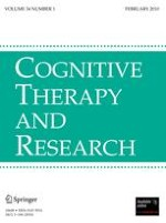 Cognitive Therapy and Research 1/2010