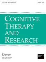 Cognitive Therapy and Research 2/2010