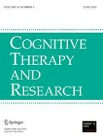 Cognitive Therapy and Research 3/2010