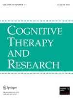 Cognitive Therapy and Research 4/2010