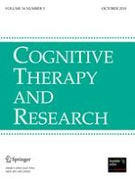 Cognitive Therapy and Research 5/2010