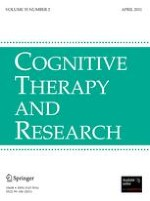 Cognitive Therapy and Research 2/2011