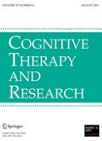 Cognitive Therapy and Research 4/2011